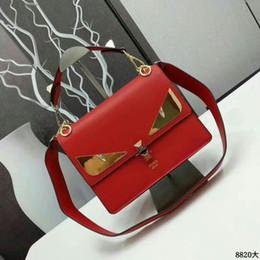 8820 Large Fashion show leather handbag metal chain long shoulder strap  women red Chain Flap Bag HANDBAGS SHOULDER MESSENGER BAGS TOTES 7a109af1def2d
