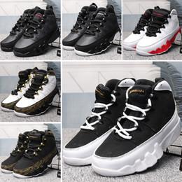 $enCountryForm.capitalKeyWord Australia - Free Shipping Cheap Kids Basketball Shoes Children Athletic 9 IX Bred Space Jam Barons GS Black Oero 9s LA Sneakers size 28-35