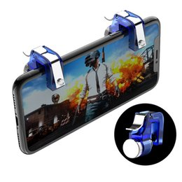 Smart mobile gameS online shopping - Knives out Rules of Survival Mobile Game Fire Button Aim Key Smart phone Mobile Gaming Trigger L1R1 Shooter Controller PUBG