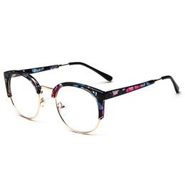 19755a6d503 Florla Fashion Women Cat Eye Eyeglasses Frame Men Optical Glasse Frame  Retro Eyeglasses Computer Glasses Transparent glasses