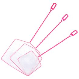 land net Canada - Fishes Shrimps Catching cleaning Accessories Practical Landing Net for Aquarium Fish Tank Accessories