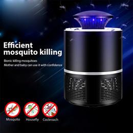 Mosquito assassino Mosquito lâmpada Potência USB Photocatalysis Mute radiativa Insect assassino voa lâmpada armadilha adequado para o bebê em Promoção