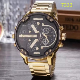 $enCountryForm.capitalKeyWord Australia - AAA luxury brand DZ men's watch fashion high-end men's large dial watch stainless steel sports gold watch quality men's watches Reloj hombre