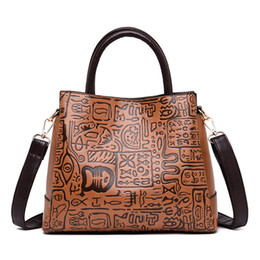 Big Chinese Cell Phone Australia - Hot Sale Women Luxurious Handbag Designer Chinese Style Ladies Big Shoulder Bag Women Tote Female Vintage Leather Crossbody Bag