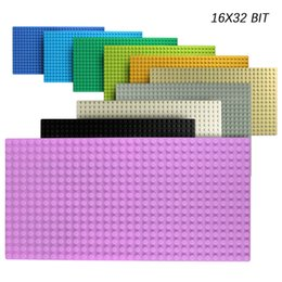 building blocks base Australia - 32*32 Dots Classic Base Plates Plastic Bricks Baseplates Building Toys City Building Blocks DIY Bricks Construction Toys Gift