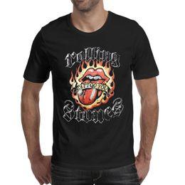 2a9923bbc78a7 Tattoo Tees Australia - Men's t shirt Rolling Stones Tattoo you Tee Cotton  Casual Fashion Shirt