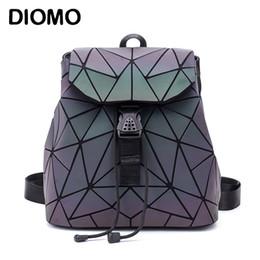 Styles Backpacks Australia - Diomo Small Backpack Women Holographic Sequin Female Backpacks For Teenage Girls Bagpack Drawstring Bag Designer Korean Style Y19061204