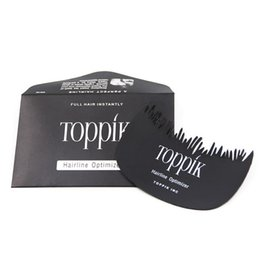 $enCountryForm.capitalKeyWord Australia - Toppik Hairline Optimizer for Toppik Keratin Hair Building Fiber Hairdressing Combs Hair Building Fiber Starter Hairline