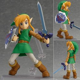 $enCountryForm.capitalKeyWord Australia - Anime action figure The Legend of Zelda 284 Nendoroid cartoon link Movable collection model doll figure toy kids gift