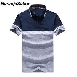 $enCountryForm.capitalKeyWord NZ - Naranjasabor Men's Polo Shirt Summer Casual Cotton Boys Short Sleeve Shirts Male Turndown Collar Polos Man Brand Clothing 4xl Q190426