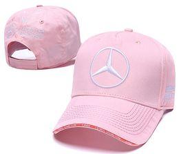 Venda quente Mercedes Benz boné osso gorras Snapback Chapéu Campeão Corrida Esportes AMG Automóvel Camionista Homens Ajustável Tampão de Golfe Chapéu de Sol 00 em Promoção