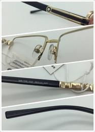 Discount black prescription glasses - Brand New Eye Glasses Frames for Men Glasses Frame Gold Silver TR90 Optical Glass Prescription Eyewear Full Frame
