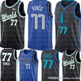 60bce90f720f Dirk nowitzki online shopping - Dallas Luka Doncic Mavericks City Kristaps  Porzingis Basketball Jerseys Retro Mesh
