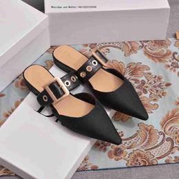 Vente en gros Chaussures habillées 2019 nouvelle marque femmes pompes été élégante femme formelle talons hauts bureau dames chaussures peu profondes