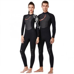 sail clothes 2020 - 1.5mm Breathable Diving Wetsuit One-Piece Long Sleeve Unisex Surfing Swimming Sailing Diving Clothes for Adults equiomen