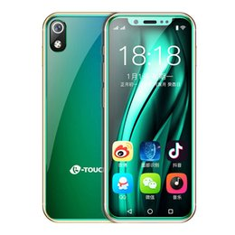 "chinese smartphones india Australia - Wholesales 3.5"" 4G LTE CDMA WCDMA Andriod8.1 Best Celulares Smartphones Face Lock 64GB ROM MTK6739 QuadCore 8MP Mini Unlocked Cell Phone"