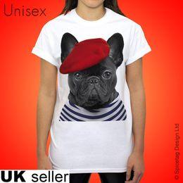 $enCountryForm.capitalKeyWord Australia - Frenchie Tshirt French Bulldog T-shirt CUTE Paris Dog City Of Love Top Animal Mens T Shirt Cotton Short Sleeve print