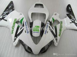 $enCountryForm.capitalKeyWord Australia - ZXMOTOR Free custom fairing kit for YAMAHA R1 1998 1999 white black fairings YZF R1 98 99 GG47