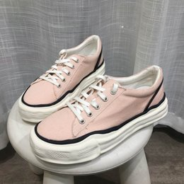 Spring Fall Canvas Shoes Australia - ERRFC Fashion Foward Women Pink Casual Comfort Shoes Spring Fall Woman Canvas Shoes Breathable Vogue Trending Flats For Girls 39