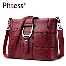 Designers Handbags For Ladies Australia - Phtess Luxury Plaid Handbags Women Bags Designer Brand Female Crossbody Shoulder Bags For Women Leather Sac A Main Ladies Bag Y19052402