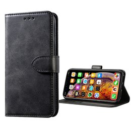 mobile phone case wallet 2019 - For Apple iphone X XS MAX XR 8 plus Samsung S8 S9 S10 Plus Case Mobile Phone Card Leather Case Cover cheap mobile phone