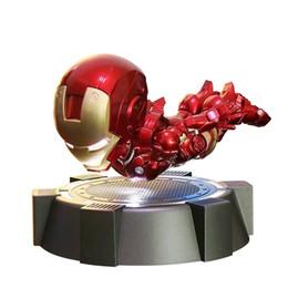 $enCountryForm.capitalKeyWord NZ - crestech 2019 The new spot stores Marvel Avengers , Magnetic levitation Illuminated Iron Man , Luminous toy Child Boys Girls Gift