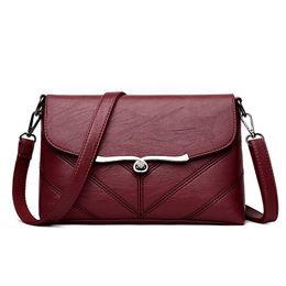 1fb5a9b0acff Michael Kors Bag UK - Brand 2019 New Fashion Thread Crossbody Bags PU  Leather Women Handbags