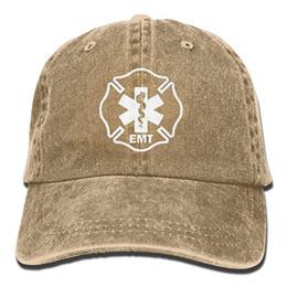 $enCountryForm.capitalKeyWord Australia - 2019 New Designer Baseball Caps Mens Cotton Washed Twill Baseball Cap EMT Shield First Responder Military Hat