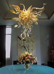 $enCountryForm.capitalKeyWord Australia - 100% Handmade Blown Glass Chandelier New House Decor AC 110V-240V Top Design European Crystal Murano Chandelier