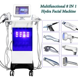 hydrodermabrasion machines UK - Hydrodermabrasion ultrasonic skin scrubber facial machine Microdermabrasion 8 in 1 laser treatments for skin tightening blackhead remove