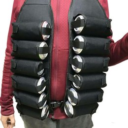 Wholesale 12 Pack A Dozen Beer Waist Belt Vest Breathable Portable Detachable Shoulder Carry Bags Beverage Drink Can Holder Bar Tool