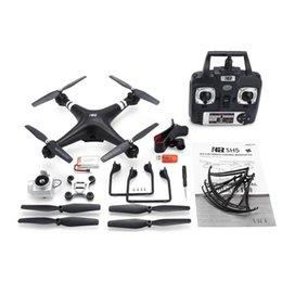 SH5H 2.4 G FPV Drone RC Quadcopter с 720p Wifi камерой Live Video Dron Высота удержания безголовый режим One Key Return VS Syma X5C