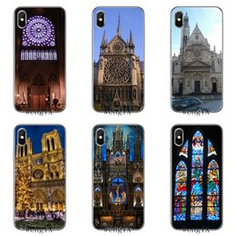 Wholesale phone cases paris for sale - Group buy notre dame cathedral paris france silicone TPU Soft phone cover case For Apple iPhone X XR XS Max s plus