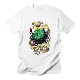 $enCountryForm.capitalKeyWord Australia - Roll Initiative Video Game Gaming T Shirts Dnd Dungeons Dragons D20 D D Critical Role The Adventure Zone 20 Sided Die