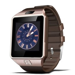 smartwatch android gps UK - DZ09 Smart Watch With Camera Bluetooth Sport Wearable Devices SIM TF Card Smartwatch For IOS Android