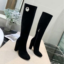 ShoeS amazing online shopping - Women Rhinestone High Heel Boots Designer Shoes Heel Cm High end vogue charming amazing New arrival