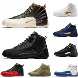 $enCountryForm.capitalKeyWord Canada - Wholesale 12 12s Basketball Shoes for men Milan navy French Blue Gym Red wings Athletic fashion Sport casual Shoes designer sneaker trainer