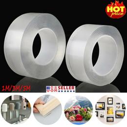Cinta adhesiva de agarre de gel de doble cara Cinta adhesiva lavable sin rastro Tecnología nano Reutilizar Cintas removibles Interior al aire libre en venta