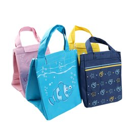 $enCountryForm.capitalKeyWord Canada - Portable Sea Animal Pattern Lunch Bag Oxford Waterproof Thermal Insulated Waterproof Convenient Leisure Lunch Tote