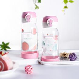 Fresh Glasses Australia - Small Fresh Glass Creative Trend Korean Female Student Cup Portable Korean Cute Simple Water Cup