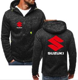 Jacket Shops Australia - 2019 Brand Men Motorcycle Suzuki hoodie 4S shop sales YAMAHA sweatshirts coat casual jacket SUZUKI GSX-R Zipper hoodie