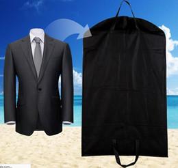 $enCountryForm.capitalKeyWord Australia - Black Dustproof Hanger Coat Clothes Garment Suit Cover Storage Bags,clothes storage,almacenamiento,Case for clothes