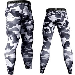 $enCountryForm.capitalKeyWord NZ - Joggers For Men Compression Tights 3D Trousers Men Camouflage Army Skinny Leggings Crossfit MMA Gyms Fitness Workout Camo Pants