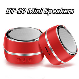 $enCountryForm.capitalKeyWord NZ - High quality Mini Speakers Bt-10 bluetooth speaker TF card with built-in microphone for MP3 it is company with you Camping cycling music