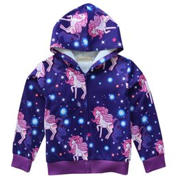$enCountryForm.capitalKeyWord Canada - Cartoon Unicorn Loose Coat Child Girl Zipper Long Sleeve Autumn Spring And Hoodie Polyester Fiber Keep Warm Purple 24 5bk C1