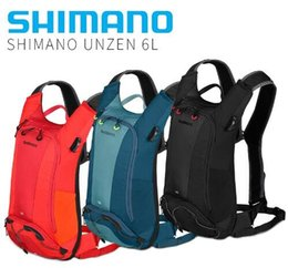 Camel Water Pack Australia - Shimano Unzen 10 Liter Cycling Hydration Pack bicycle Mochila Camel Water Bladder Bag Assault Backpack Camping Hiking Pouch #367475