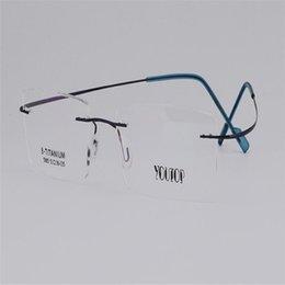 Mongoten Anti-fatigue Eyewear Frame Unisex Fashion Pure Titanium Full Rim Optical Frame Gold Silver Goggle Reading Eyeglasses Elegant And Sturdy Package Men's Reading Glasses