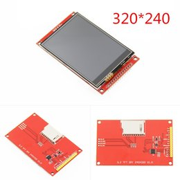 $enCountryForm.capitalKeyWord Australia - 3.2 Inch 320*240 Spi Serial Tft Lcd Module Display Screen With Touch Panel Driver Ic Ili9341 For Mcu