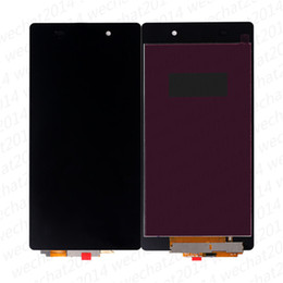 $enCountryForm.capitalKeyWord Australia - LCD Display Touch Screen Digitizer Assembly Replacement Parts for Sony Z1 Compact Z2 L50W D6502 free DHL