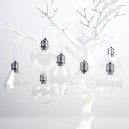 $enCountryForm.capitalKeyWord Australia - DIY Christmas Tree Ornaments Hanging Christmas Bulb Ball Home Party wedding Decoration Simulation Light Bulb Lighting Pendant